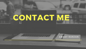 contact abhay ranjan
