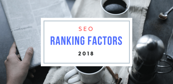 seo ranking factor 2018