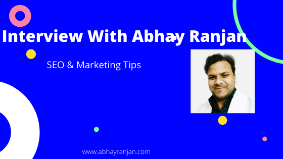 abhay ranjan interview question